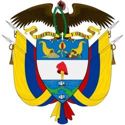 Пазл онлайн: Герб Колумбии