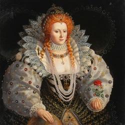 Пазл онлайн: Королева Елизавета