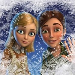 Пазл онлайн: Герда и Кай