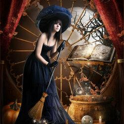 Пазл онлайн: Магия на Хэллоуин