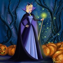 Пазл онлайн: Костюм на хэллоуин