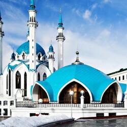 Пазл онлайн: Мечеть Кул-Шариф, Казань