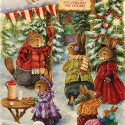 Пазл онлайн: Рождественское дерево