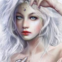 Пазл онлайн: Ледяная дева