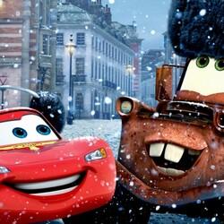 Пазл онлайн: С первым снегом!