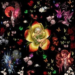 Пазл онлайн: Цветочная феерия