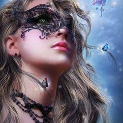 Пазл онлайн: Таинственная женщина