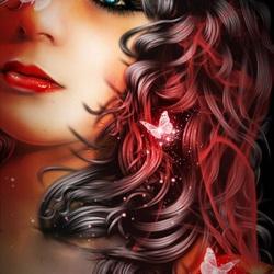 Пазл онлайн: Красные духи