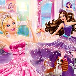 Пазл онлайн: Магия Барби