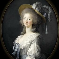 Пазл онлайн: Мария-Тереза-Луиза де Савой-Кориньян,принцесса де Ламбалль