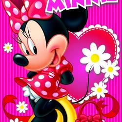 Пазл онлайн: Красотка Минни
