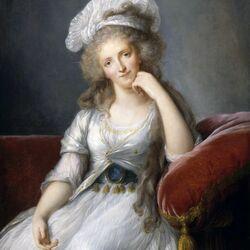 Пазл онлайн: Луиза-Мария-Аделаида де Бурбон-Пентьевр,герцогиня Орлеанская