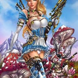 Пазл онлайн: Алиса в стране...