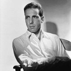 Пазл онлайн: Ушедшая эпоха Голливуда.Хамфри Богарт