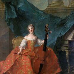 Пазл онлайн: Анриетта Французская,известная как Мадам Анриетта