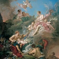 Пазл онлайн: Венера в кузнице Вулкана