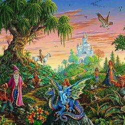 Пазл онлайн: Встреча с волшебством