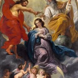 Пазл онлайн: Коронование Девы Марии