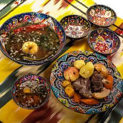Пазл онлайн: Узбекская кухня
