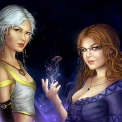 Пазл онлайн: Натия и Селена