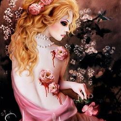 Пазл онлайн: Губительные розы