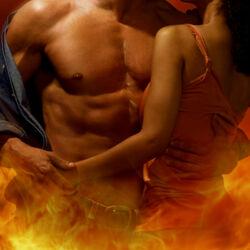 Пазл онлайн: Огненная страсть