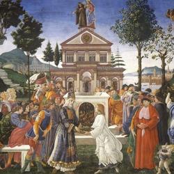 Пазл онлайн: Искушения Христа