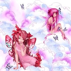 Пазл онлайн: Розовые мечты