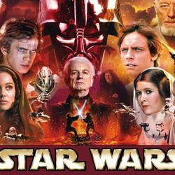 Пазл онлайн: Вселенная Звездных войн