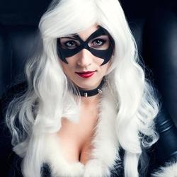 Пазл онлайн: Чёрная кошка (Marvel Comics)