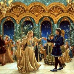 Пазл онлайн: Танец принцесс