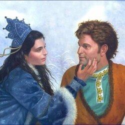 Пазл онлайн: Принцесса Снегурочка