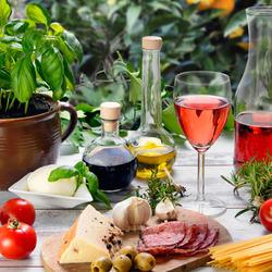 Пазл онлайн: Итальянская кухня