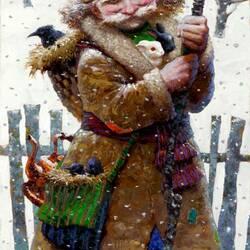 Пазл онлайн: Старичок-лесовичок