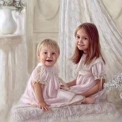 Пазл онлайн: Две сестры