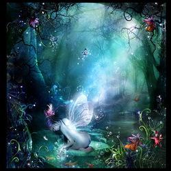 Пазл онлайн: Сказки голубой феи