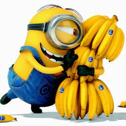 Пазл онлайн: Любитель бананов