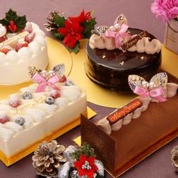 Пазл онлайн: Рождественские пирожные