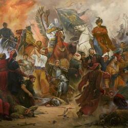 Пазл онлайн: Бой под Берестечком