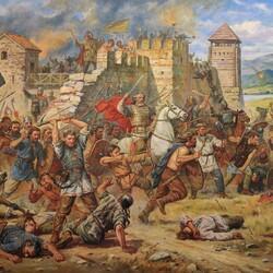 Пазл онлайн: Оборона Киевца на Дунае. 487 год