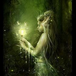 Пазл онлайн: Волшебный свет
