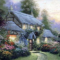 Пазл онлайн: Дом Юлианы