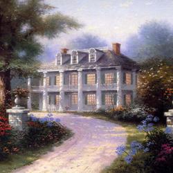 Пазл онлайн: Богатый дом