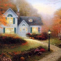 Пазл онлайн: Прекрасная осень