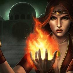 Пазл онлайн: Последняя повелительница огня
