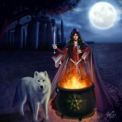 Пазл онлайн: Ведьма Стоунхенджа