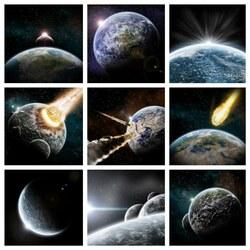Пазл онлайн: Небесные катаклизмы