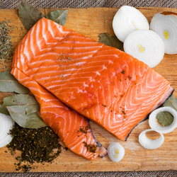 Пазл онлайн: Соленая рыбка