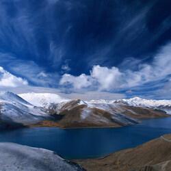 Пазл онлайн: Синие небеса
