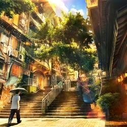 Пазл онлайн: Солнечный свет